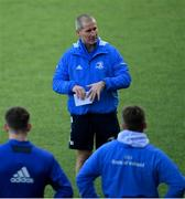 29 December 2020; Senior coach Stuart Lancaster during Leinster Rugby squad training at Energia Park in Dublin. Photo by Ramsey Cardy/Sportsfile