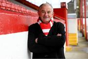 31 December 2020; Newly appointed Shelbourne Women's team manager Noel King at Tolka Park in Dublin. Photo by Matt Browne/Sportsfile