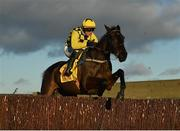 1 January 2021; Al Boum Photo, with Paul Townend up, jumps the last during the second circuit on their way to winning the Savills New Year's Day Steeplechase at Tramore Racecourse in Waterford. Photo by Seb Daly/Sportsfile