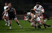 2 January 2021; Nick Timoney of Ulster is tackled by Ben Healy of Munster during the Guinness PRO14 match between Ulster and Munster at Kingspan Stadium in Belfast. Photo by David Fitzgerald/Sportsfile