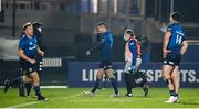 2 January 2021; Jonathan Sexton of Leinster leaves the pitch with an injury during the Guinness PRO14 match between Leinster and Connacht at the RDS Arena in Dublin. Photo by Brendan Moran/Sportsfile