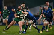 2 January 2021; Sammy Arnold of Connacht is tackled by Ryan Baird of Leinster during the Guinness PRO14 match between Leinster and Connacht at the RDS Arena in Dublin. Photo by Ramsey Cardy/Sportsfile