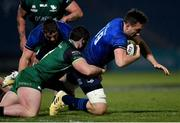 2 January 2021; Jack Conan of Leinster is tackled by Sammy Arnold of Connacht during the Guinness PRO14 match between Leinster and Connacht at the RDS Arena in Dublin. Photo by Ramsey Cardy/Sportsfile