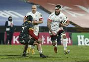 2 January 2021; Marcell Coetzee of Ulster is tackled by Chris Cloete of Munster during the Guinness PRO14 match between Ulster and Munster at Kingspan Stadium in Belfast. Photo by John Dickson/Sportsfile