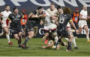 2 January 2021; Marcell Coetzee of Ulster during the Guinness PRO14 match between Ulster and Munster at Kingspan Stadium in Belfast. Photo by John Dickson/Sportsfile
