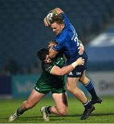 2 January 2021; Liam Turner of Leinster is tackled by Sammy Arnold of Connacht during the Guinness PRO14 match between Leinster and Connacht at the RDS Arena in Dublin. Photo by Piaras Ó Mídheach/Sportsfile