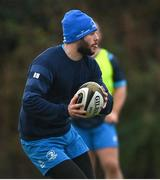 4 January 2021; Robbie Henshaw during Leinster Rugby squad training at UCD in Dublin. Photo by Ramsey Cardy/Sportsfile