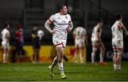 2 January 2021; Jacob Stockdale of Ulster during the Guinness PRO14 match between Ulster and Munster at Kingspan Stadium in Belfast. Photo by David Fitzgerald/Sportsfile