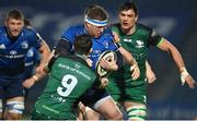 2 January 2021; Seán Cronin of Leinster is tackled by Caolin Blade of Connacht during the Guinness PRO14 match between Leinster and Connacht at the RDS Arena in Dublin. Photo by Brendan Moran/Sportsfile