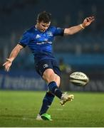 2 January 2021; Luke McGrath of Leinster during the Guinness PRO14 match between Leinster and Connacht at the RDS Arena in Dublin. Photo by Brendan Moran/Sportsfile