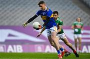 6 December 2020; Conor Sweeney of Tipperary in action against Chris Barrett of Mayo during the GAA Football All-Ireland Senior Championship Semi-Final match between Mayo and Tipperary at Croke Park in Dublin. Photo by Brendan Moran/Sportsfile