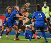 24 October 2020; Béibhinn Parsons of Ireland during the Women's Six Nations Rugby Championship match between Ireland and Italy at Energia Park in Dublin. Due to current restrictions laid down by the Irish government to prevent the spread of coronavirus and to adhere to social distancing regulations, all sports events in Ireland are currently held behind closed doors. Photo by Brendan Moran/Sportsfile