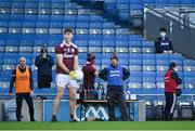 19 December 2020; Galway manager Donal Ó Fatharta during the EirGrid GAA Football All-Ireland Under 20 Championship Final match between Dublin and Galway at Croke Park in Dublin. Photo by Piaras Ó Mídheach/Sportsfile