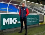 7 January 2021; New St Patrick's Athletic signing John Mountney pictured at Richmond Park in Dublin. Photo by Seb Daly/Sportsfile