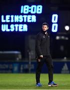 8 January 2021; Sam Carter of Ulster walks the pitch prior to the Guinness PRO14 match between Leinster and Ulster at the RDS Arena in Dublin. Photo by Seb Daly/Sportsfile