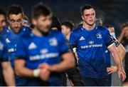 8 January 2021; James Ryan of Leinster following his side's victory the Guinness PRO14 match between Leinster and Ulster at the RDS Arena in Dublin. Photo by Ramsey Cardy/Sportsfile