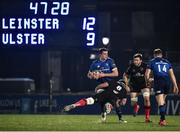 8 January 2021; James Ryan of Leinster is tackled by Marcell Coetzee of Ulster during the Guinness PRO14 match between Leinster and Ulster at the RDS Arena in Dublin. Photo by Seb Daly/Sportsfile