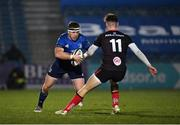 8 January 2021; Seán Cronin of Leinster in action against Ethan McIlroy of Ulster during the Guinness PRO14 match between Leinster and Ulster at the RDS Arena in Dublin. Photo by Seb Daly/Sportsfile