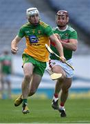 22 November 2020; Ronan McDermott of Donegal in action against Cathal Freeman of Mayo during the Nickey Rackard Cup Final match between Donegal and Mayo at Croke Park in Dublin. Photo by Piaras Ó Mídheach/Sportsfile