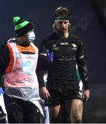 9 January 2021; Ben O'Donnell of Connacht is substituted due to injury during the Guinness PRO14 match between Connacht and Munster at the Sportsground in Galway. Photo by David Fitzgerald/Sportsfile