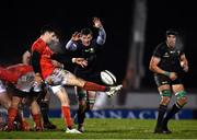 9 January 2021; Gavin Thornbury of Connacht attempts to block a box kick by Conor Murray of Munster during the Guinness PRO14 match between Connacht and Munster at the Sportsground in Galway. Photo by Sam Barnes/Sportsfile