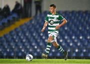 21 December 2020; Ben Curtis of Shamrock Rovers during the SSE Airtricity U17 National League Final match between Shamrock Rovers and Bohemians at the UCD Bowl in Dublin. Photo by Sam Barnes/Sportsfile
