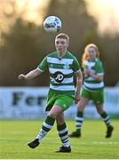 23 December 2020; Jamie Thompson of Shamrock Rovers during the Women's Under-17 National League Final match between Shamrock Rovers and Cork City at Athlone Town Stadium in Athlone, Westmeath. Photo by Sam Barnes/Sportsfile