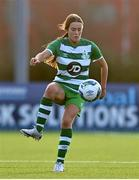 23 December 2020; Ava Cullen of Shamrock Rovers during the Women's Under-17 National League Final match between Shamrock Rovers and Cork City at Athlone Town Stadium in Athlone, Westmeath. Photo by Sam Barnes/Sportsfile
