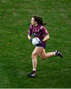 20 December 2020; Niamh Spellman of Westmeath during the TG4 All-Ireland Intermediate Ladies Football Championship Final match between Meath and Westmeath at Croke Park in Dublin. Photo by Sam Barnes/Sportsfile