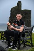 13 January 2021; Limerick hurler Gearóid Hegarty pictured with his PwC GAA / GPA Hurler of the Month - Finals Award. Photo by Sam Barnes/Sportsfile