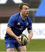 15 January 2021; David Hawkshaw of Leinster A during the A Interprovincial match between Ulster A and Leinster A at Kingspan Stadium in Belfast. Photo by John Dickson/Sportsfile