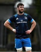 18 January 2021; Caelan Doris during Leinster Rugby squad training at UCD in Dublin. Photo by Ramsey Cardy/Sportsfile