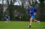 18 January 2021; Ross Byrne during Leinster Rugby squad training at UCD in Dublin. Photo by Ramsey Cardy/Sportsfile