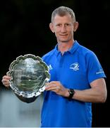 21 January 2021; Leinster Rugby Head Coach Leo Cullen who today accepted the Dave Guiney Guinness Rugby Writers of Ireland Team of the Year award on behalf of Leinster Rugby. The province enjoyed an outstanding 2019/2020 season, winning all 17 of their matches in the Guinness PRO14, en route to their third consecutive PRO14 title and seventh overall. Photo by Ramsey Cardy/Sportsfile