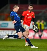 23 January 2021; Jonathan Sexton of Leinster during the Guinness PRO14 match between Munster and Leinster at Thomond Park in Limerick. Photo by Ramsey Cardy/Sportsfile