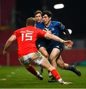 23 January 2021; Jimmy O'Brien of Leinster during the Guinness PRO14 match between Munster and Leinster at Thomond Park in Limerick. Photo by Ramsey Cardy/Sportsfile