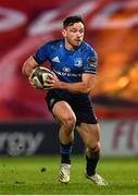 23 January 2021; Hugo Keenan of Leinster during the Guinness PRO14 match between Munster and Leinster at Thomond Park in Limerick. Photo by Eóin Noonan/Sportsfile