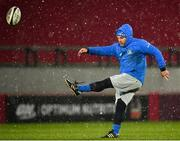 23 January 2021; Leinster Kicking Coach and Lead Performance Analyst Emmet Farrell during the Guinness PRO14 match between Munster and Leinster at Thomond Park in Limerick. Photo by Eóin Noonan/Sportsfile