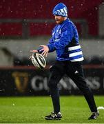 23 January 2021; Leinster Rugby Operations Manager Ronan O'Donnell during the Guinness PRO14 match between Munster and Leinster at Thomond Park in Limerick. Photo by Eóin Noonan/Sportsfile
