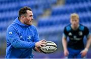 25 January 2021; Peter Dooley during Leinster Rugby squad training at Energia Park in Dublin. Photo by Ramsey Cardy/Sportsfile