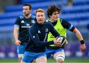 25 January 2021; Ciarán Frawley during Leinster Rugby squad training at Energia Park in Dublin. Photo by Ramsey Cardy/Sportsfile