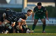 24 January 2021; Rhys Webb of Ospreys during the Guinness PRO14 match between Connacht and Ospreys at The Sportsground in Galway. Photo by Brendan Moran/Sportsfile