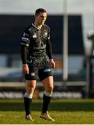 24 January 2021; George North of Ospreys during the Guinness PRO14 match between Connacht and Ospreys at The Sportsground in Galway. Photo by Brendan Moran/Sportsfile