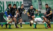 30 January 2021; Billy Holland of Munster in action against Thomas Gallo of Benetton during the Guinness PRO14 match between Benetton and Munster at Stadio Monigo in Treviso, Italy. Photo by Roberto Bregani/Sportsfile