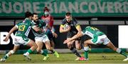 30 January 2021; Liam Coombes of Munster is tackled by Ignacio Brex of Benetton Rugby during the Guinness PRO14 match between Benetton and Munster at Stadio Monigo in Treviso, Italy. Photo by Roberto Bregani/Sportsfile