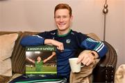 2 February 2021; Na Piarsaigh and Limerick Hurler William O'Donoghue at the launch of Sportsfile's 2020 edition of A Season of Sundays. This year's eagerly anticipated offering looks back at all the memories throughout a year like no other and is once again supported by Carroll's of Tullamore. The 2020 edition captures the highs and lows of an incredible GAA season with another captivating and colourful look back on a season that hung in the balance because of the Covid-19 pandemic. An ideal gift for any GAA fan, the book is available at bookstores nationwide and online at www.sportsfile.com Photo by Diarmuid Greene/Sportsfile