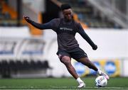 2 February 2021; Ebuka Kwelele during a Dundalk Pre-Season training session at Oriel Park in Dundalk, Louth. Photo by Ben McShane/Sportsfile
