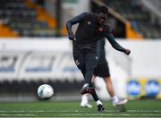 2 February 2021; Val Adedokun during a Dundalk Pre-Season training session at Oriel Park in Dundalk, Louth. Photo by Ben McShane/Sportsfile
