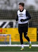 2 February 2021; Ole Erik Midtskogen during a Dundalk Pre-Season training session at Oriel Park in Dundalk, Louth. Photo by Ben McShane/Sportsfile