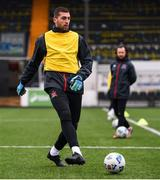 2 February 2021; Alessio Abibi during a Dundalk Pre-Season training session at Oriel Park in Dundalk, Louth. Photo by Ben McShane/Sportsfile